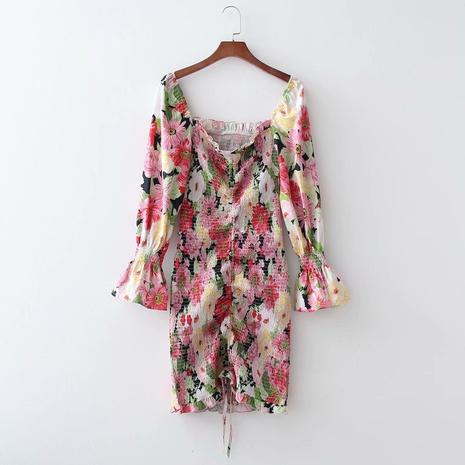 robe sans bretelles avec cordon de serrage élastique NHAM321742's discount tags