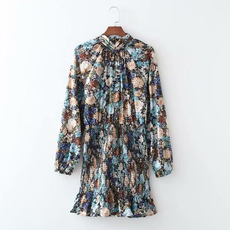 robe à manches longues élastique à la mode NHAM321749's discount tags