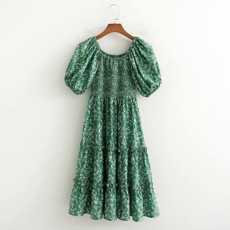 mode simple robe élastiquée en gros NHAM321765's discount tags
