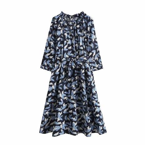 robe brodée mi-longue à la mode NHAM321778's discount tags