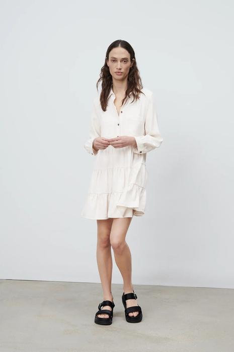robe à manches longues à décoration laminée NHAM321797's discount tags
