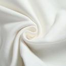 loose round neck white asymmetric Tshirt  NHAM321819