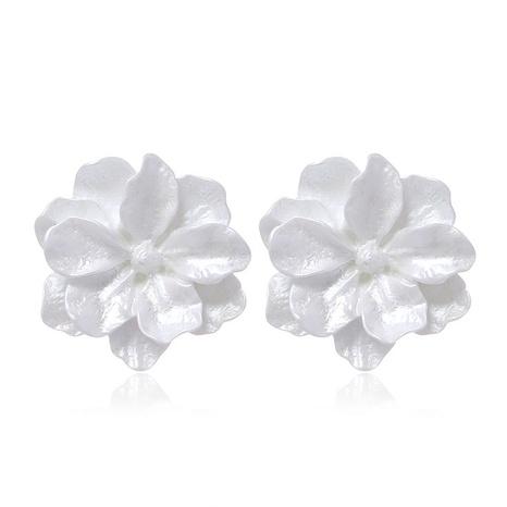 Boucles d'oreilles à la mode coréenne avec des fleurs douces NHSC322118's discount tags