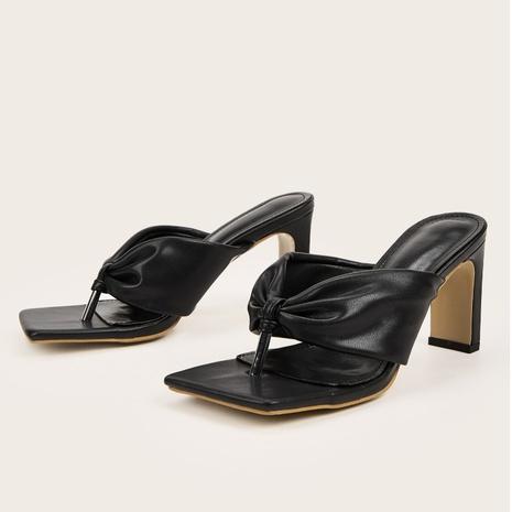 sandales à talons hauts mode été NHHU321865's discount tags