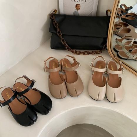 Sandales décontractées simples à la mode coréenne NHHU321871's discount tags