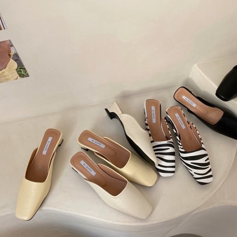 new fashion shallow simple low-heel stiletto NHHU321896's discount tags