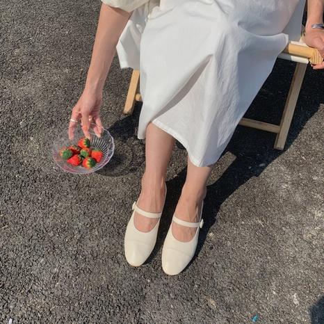 new fashion simple retro shoes NHHU321899's discount tags