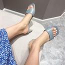 nouvelles sandales de couleur unie  la mode NHHU321922