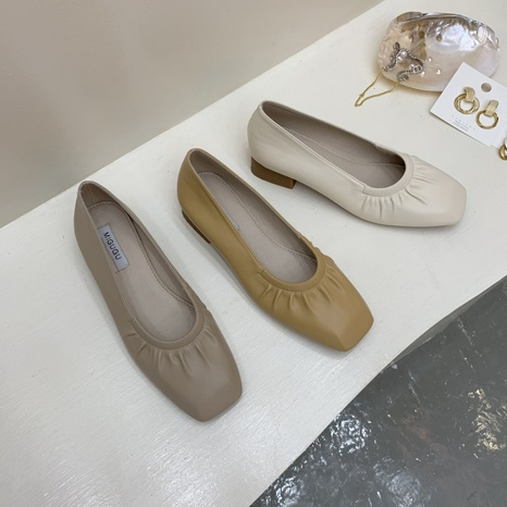 new fashion shallow casual peas shoes NHHU321954's discount tags