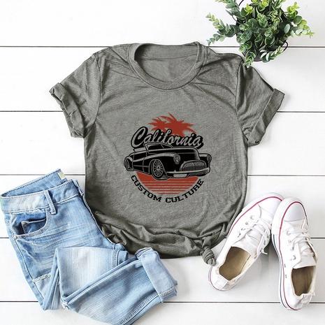 t-shirt en coton à manches courtes NHSN321992's discount tags