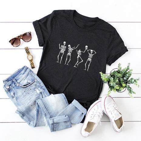 t-shirt à manches courtes en coton NHSN322008's discount tags