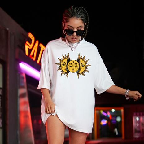 nueva camisa de sol de moda camiseta casual suelta NHSN322044's discount tags