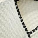 New cardigan Vneck knitted short Tshirt NHZN322611