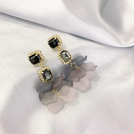 boucles d'oreilles à la mode en acrylique pétale NHXI322213's discount tags
