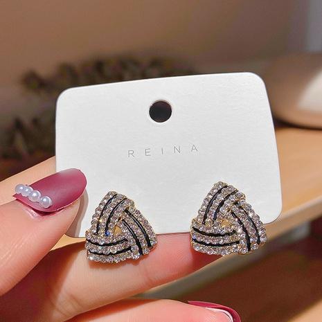 Boucles d'oreilles géométriques rétro coréennes NHXI322222's discount tags