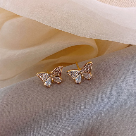 Boucles d'oreilles simples aiguilles argent coréennes NHXI322224's discount tags