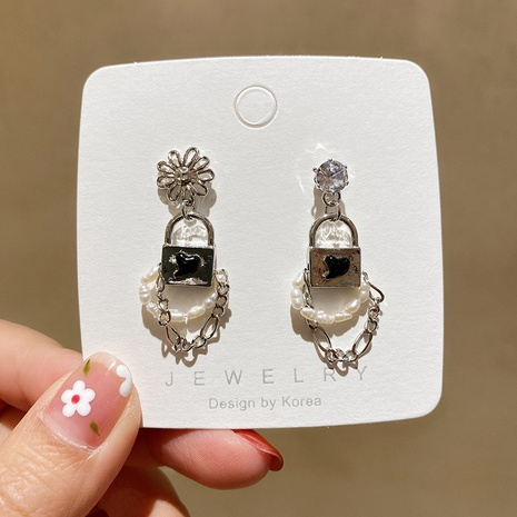 fashion retro pearl earrings wholesale NHMS322270's discount tags