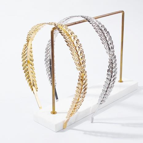 Bandeau en métal exquis simple baroque NHMD322285's discount tags