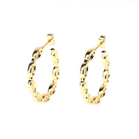 boucles d'oreilles en forme de C en gros NHPY322323's discount tags