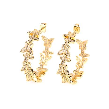 Al por mayor pendientes de diamantes de mariposa NHPY322330's discount tags