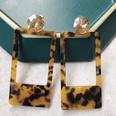 NHOM1489157-Rectangular-dark-brown-earrings-4.29.2cm