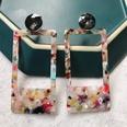 NHOM1489160-Rectangular-color-stud-earrings