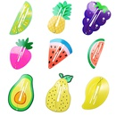 Geometric Fruit Bulk Yellow Hairpin NHPJ322350