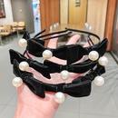 Koreanische Mode Perlenschleife Haarband NHNA322366
