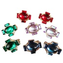 simple fashion Colored Resin Earrings NHOM322421