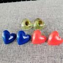 simple fashion Love Resin Stud Earrings NHOM322425