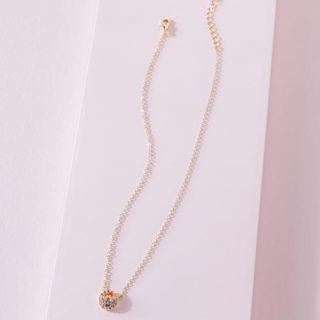 Collier pendentif coloré de mode corée NHLU322434's discount tags
