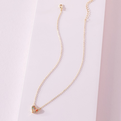 fashion korea Zircon Pendant Necklace NHLU322469's discount tags