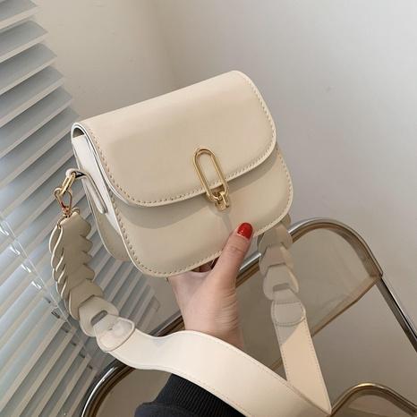 bolso de mensajero de hombro de color sólido de moda NHJZ320227's discount tags