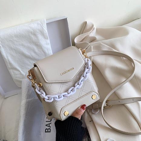 Bolso cuadrado del hombro de la cadena del mensajero de la moda coreana NHJZ320233's discount tags