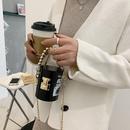 new fashion acrylic transparent cylinder messenger bag NHLH320251