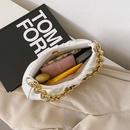 Casual crescent chain shoulder messenger bag NHLH320264