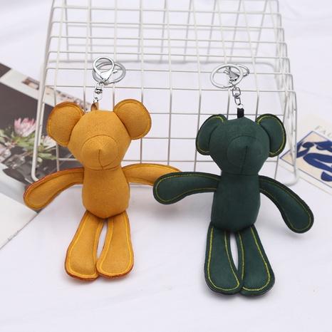 Creative plush bear pendant keychain NHAE322520's discount tags