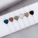 Koreanisches einfaches herzfrmiges Kristallhaufenarmband NHAN322686