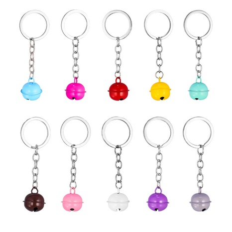 simple fashion bell keychain NHAP322727's discount tags