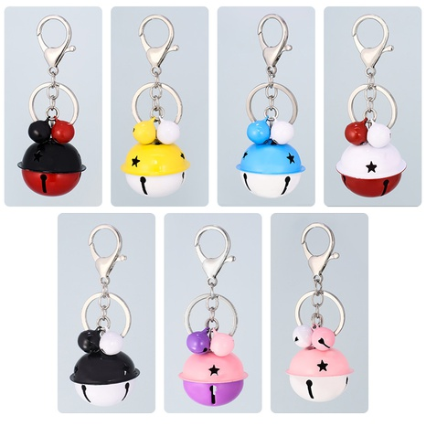 fashion simple bell keychain NHAP322729's discount tags