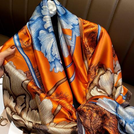 mantón de seda de imitación de printl de moda NHCJ322788's discount tags