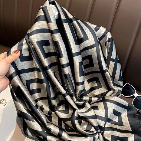 Korean fashion artificial long silk scarf   NHCJ322808's discount tags
