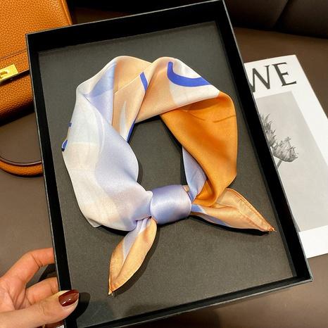 Bufanda de seda cuadrada de moda coreana NHCJ322810's discount tags