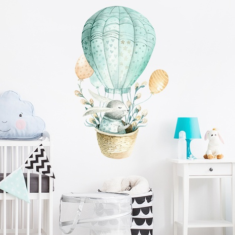 new fashion rabbit balloon wall stickers NHAF322833's discount tags