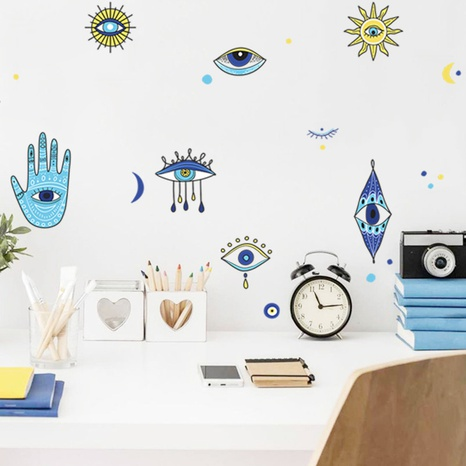 new fashion eyes painted wall stickers NHAF322839's discount tags