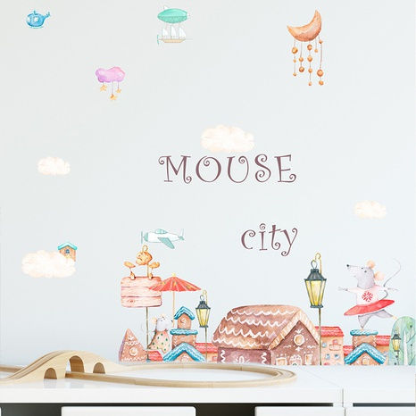 new fashion Princess castle wall stickers NHAF322844's discount tags