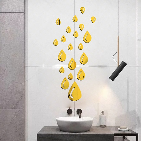 Fashion Raindrop  Acrylic Wall Sticker  NHAF322939's discount tags