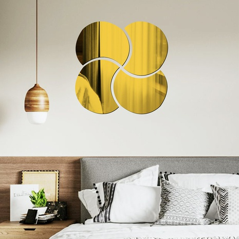 circle-shaped acrylic wall stickers  NHAF322940's discount tags