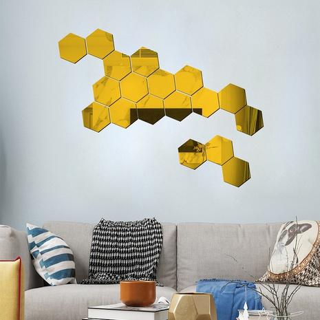 Fashion Geometric Acrylic Wall Stickers  NHAF322942's discount tags