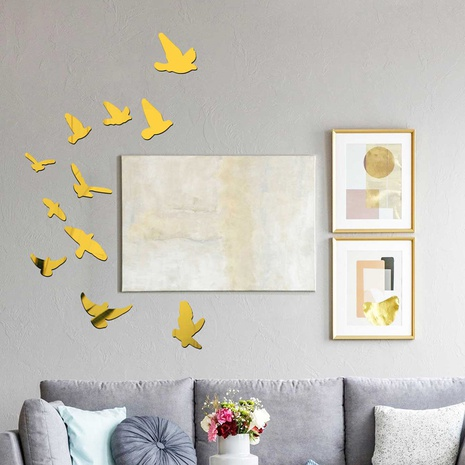 fashion simple pigeon acrylic wall stickers  NHAF322943's discount tags